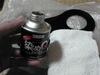 ローバーミニクーパーのタンクエプロン塗装画像2