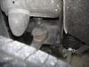 ローバーミニクーパーの足回りダストブーツ破損画像1
