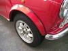 ローバーミニクーパーに装着したスタッドレスタイヤ