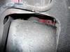 ローバーミニクーパーのステアリングラック交換作業4