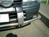 ローバーミニクーパーに追突事故を起こしたRV車
