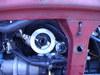 ローバーミニクーパーのオイルライン取り出しようHKSサーモブロック画像1