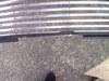 ローバーミニクーパーのオイルクーラーホースライン用グリル加工画像1