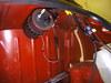 ローバーミニクーパーに取り付けたコンデンサとハーネス画像