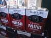 ガレージミニマムさん店頭に並ぶバルタンブランドオイル画像