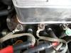 ローバーミニクーパーに装着したノロジーホットワイヤープラグコードアース取り付け画像
