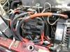 ローバーミニクーパーに装着したノロジーホットワイヤープラグコード画像2