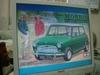 ローバーミニクーパーのプラモデル、モーリスミニクーパー1275s壁紙