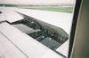 ジェット機のエアブレーキ画像