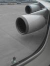 ジェット機エンジン画像
