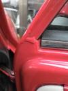 ローバーミニクーパーの窓枠画像1