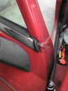 ローバーミニクーパーの窓枠画像2
