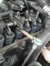 ローバーミニクーパーのバルブクリアランス調整画像1