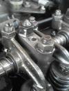 ローバーミニクーパーのハイリフトロッカーアーム取り付け加工画像