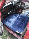 ローバーミニクーパーの車中泊用エアーマット画像2