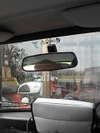 ローバーミニクーパーの純正ルームミラー画像1