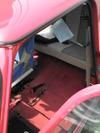 ローバーミニクーパーの助手席をはずした空間画像1