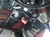 ミサイルスイッチ装着のミニクーパー室内画像4