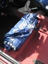 ローバーミニクーパーの車中泊用エアーマット画像1