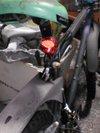 自転車のLED点滅式反射板画像2