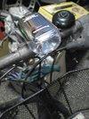 自転車のハロゲンヘッドライト画像2