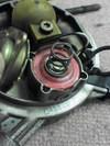 インジェクションローバーミニクーパーの燃圧レギュレーター分解画像1