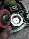 インジェクションローバーミニクーパーの燃圧レギュレーター分解画像2