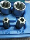 ローバーミニクーパー整備用トルクスレンチビットセット画像2