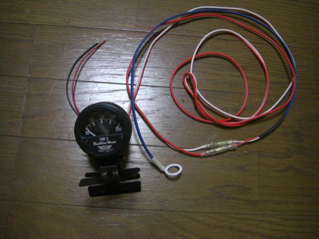 ミニクーパーのシリンダーヘッド温度計