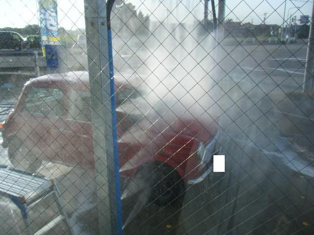 ミニクーパーの手洗い洗車機4