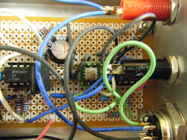 ミニクーパーの振動センサー加速度