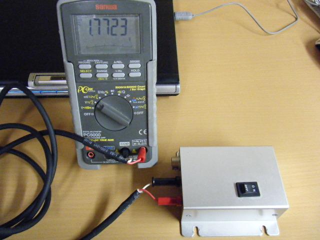 ミニクーパーの振動センサー基準電圧