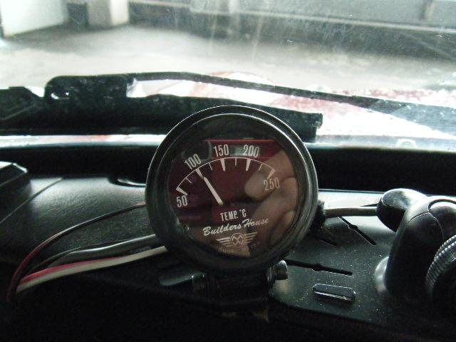 ミニクーパーのシリンダーヘッド温度