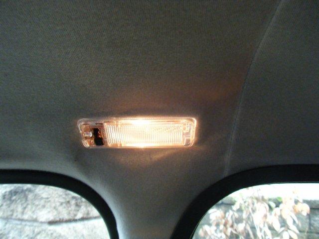 ミニクーパーのルームランプ点灯