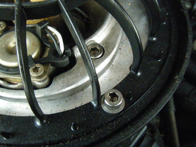 ミニクーパーのエアクリーナー汚れ