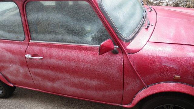 ミニクーパーの洗車