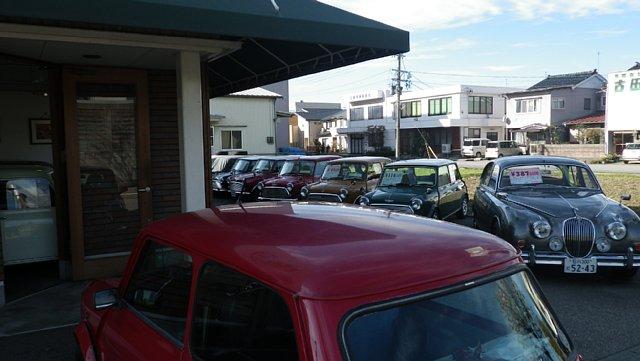 ガレージミニマムのミニクーパー