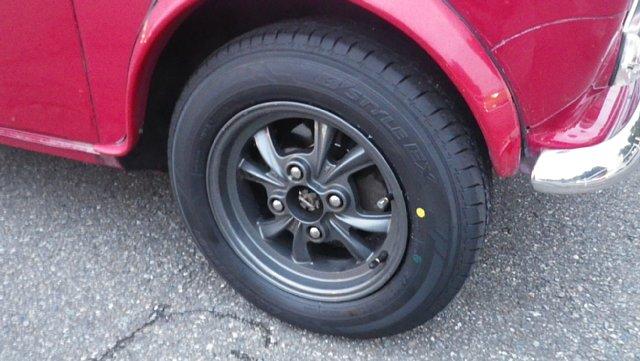 ミニクーパーのノーマルタイヤ組み換え完了